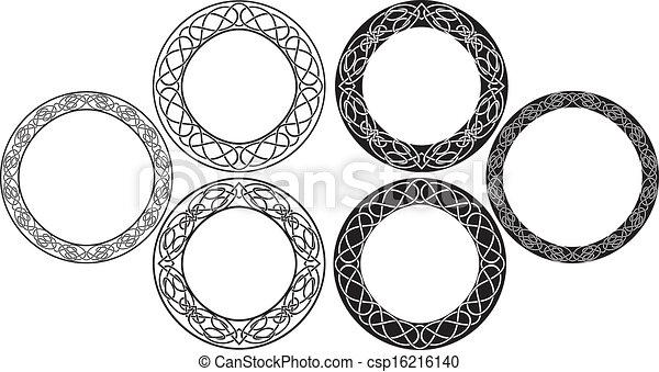 celtic stencil set - csp16216140