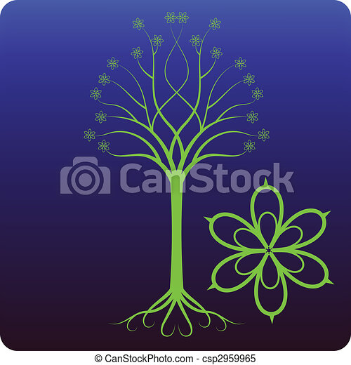Celtic tree - csp2959965