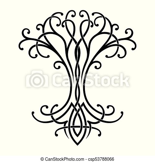 celtic tree of life vector celtic national drawing of a tree of life rh canstockphoto com tree of life vector art tree of life vector image