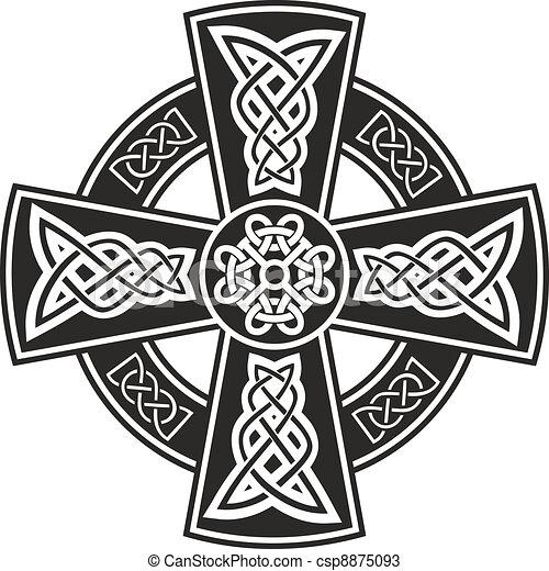 celtycki krzyż - csp8875093