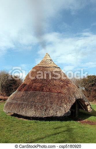 celtycki, starożytny, mieszkanie - csp5180920