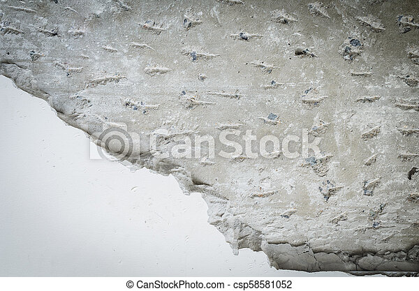 cement wall - csp58581052