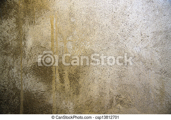cement wall - csp13812701