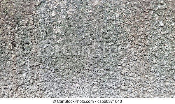 Cement wall texture. Gray grunge concrete background. - csp68371840