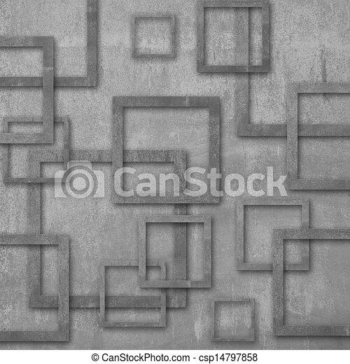 Wall Cement Art Design