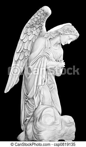 cementerio, ángel - csp0819135