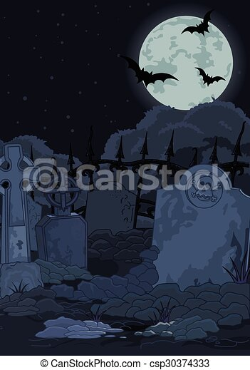 Cementerio - csp30374333