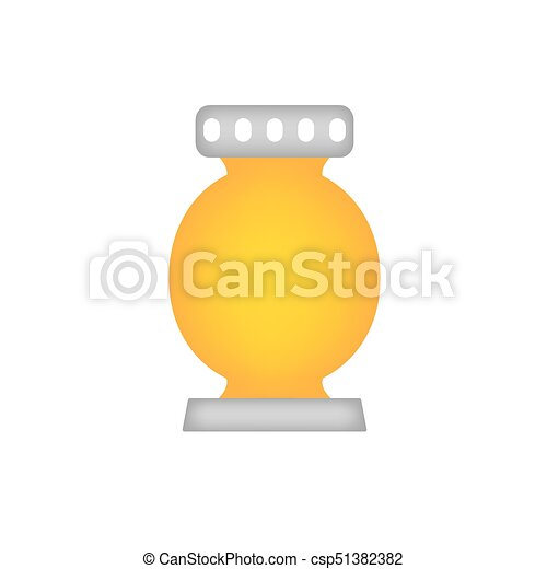 cemetery candle, All Saints' Day lantern - csp51382382