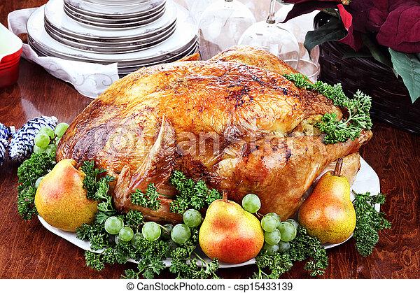 cena turchia, delizioso - csp15433139