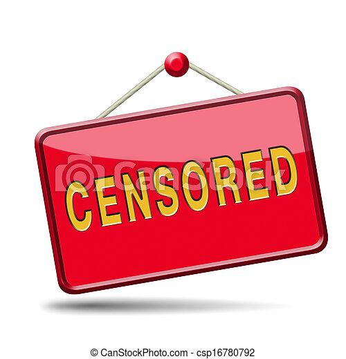 censuré - csp16780792