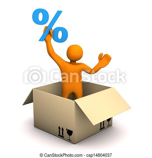 cent, paquet, homoncule - csp14804037