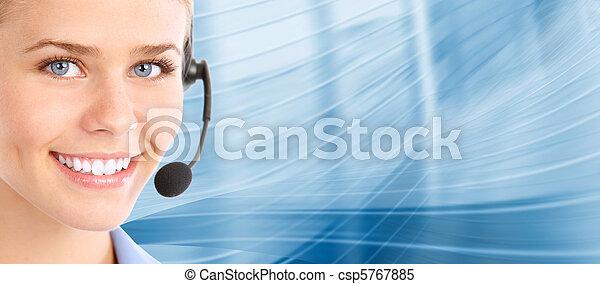 center., cliente, support., llamada, helpdesk. - csp5767885