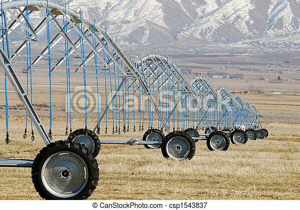 Center Pivot Irrigation - csp1543837