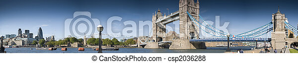 Central London panorama - csp2036288