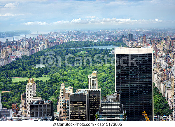 Central Park in NYC - csp15173805