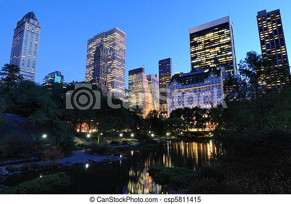 Central Park - csp5811415