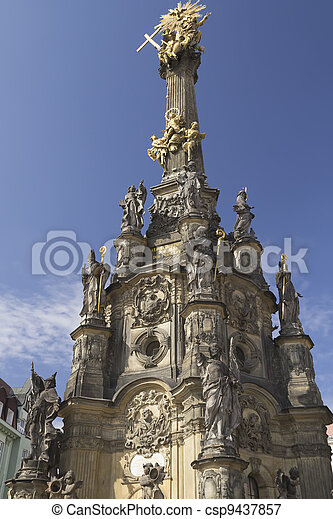 Centre of the town of Olomouc (UNESCO World Cultural Heritage) - csp9437857