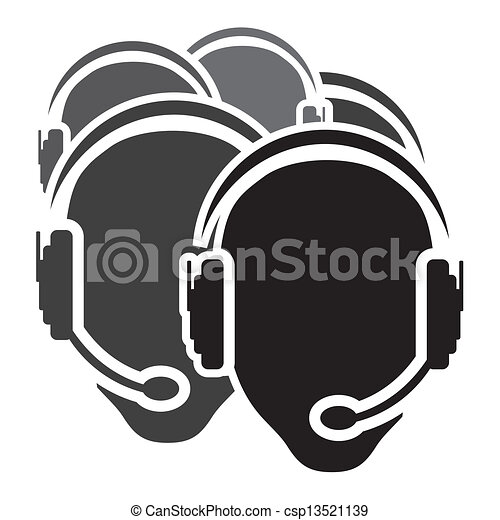 centrera, ikon, ringa, vektor - csp13521139
