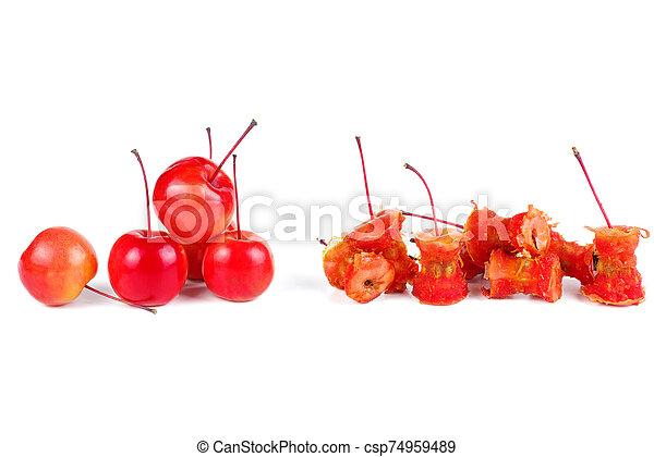 centri, mela, granchio - csp74959489