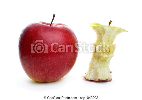 centro, mela intera - csp1843002