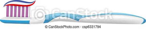 Cepillo de dientes - csp6331794