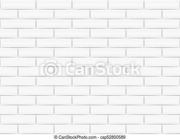 Ceramic Brick Tile Wall Vector Illustration Eps 10