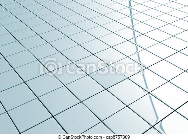 Ceramic tiled floor  - csp8757309