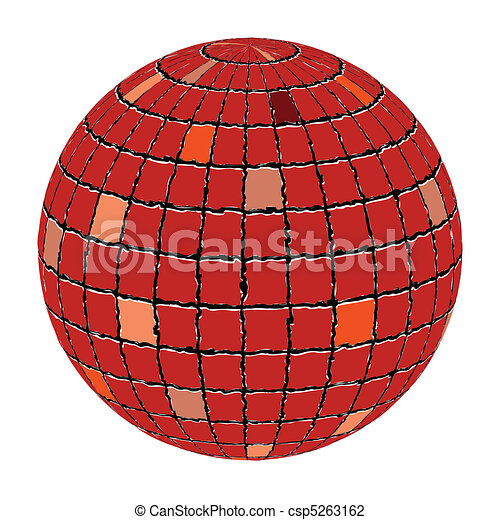ceramic tiles sphere - csp5263162