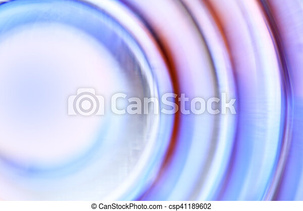 cercles, concentrique, defocused - csp41189602