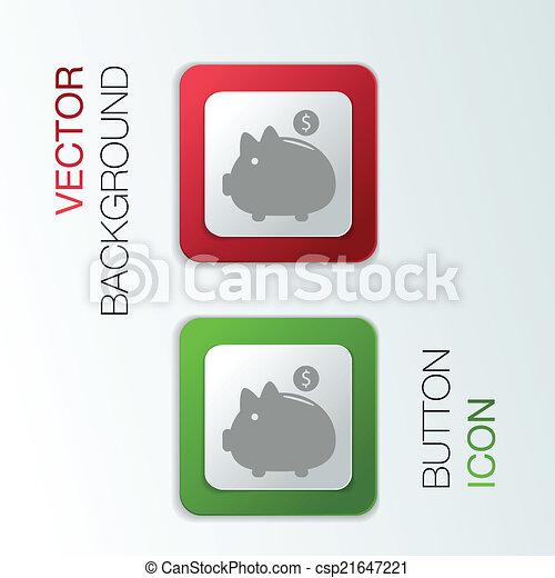 Piggy Bank. - csp21647221