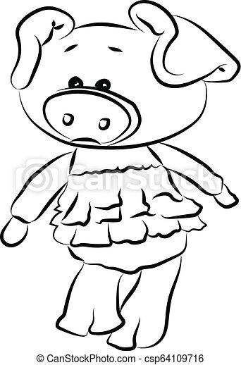 Piggy - csp64109716