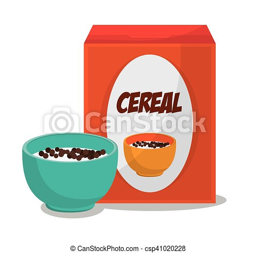 Cereal And Breakfast Design Cereal Icon Breakfast Fresh Product