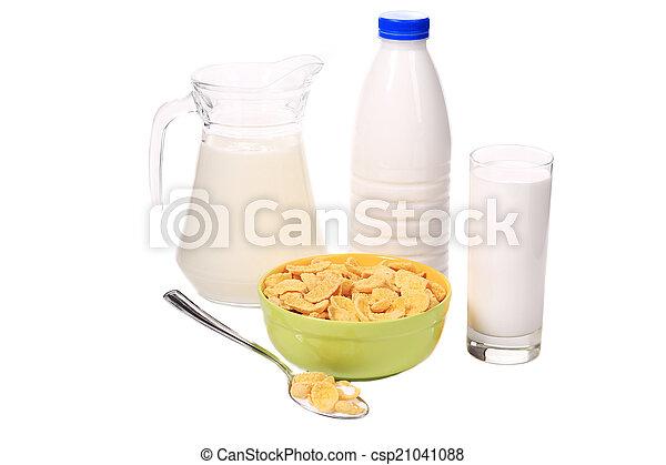 Cereal breakfast for kids. - csp21041088