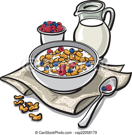 cereal breakfast vectors illustration search clipart drawings rh canstockphoto com cereal pictures clip art cereal bowl clipart