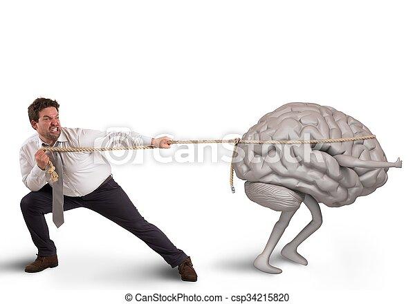 Drenaje cerebral - csp34215820