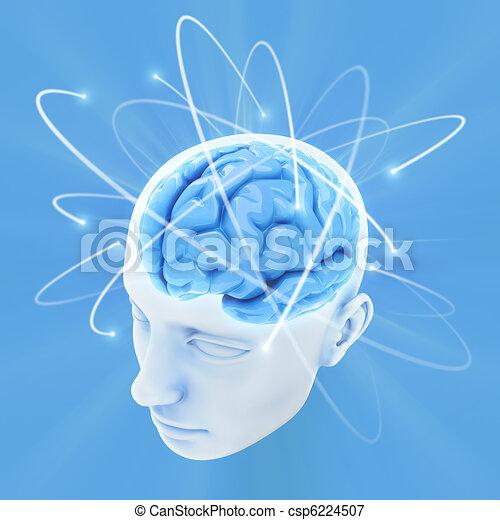 Cerebro (El poder de la mente) - csp6224507