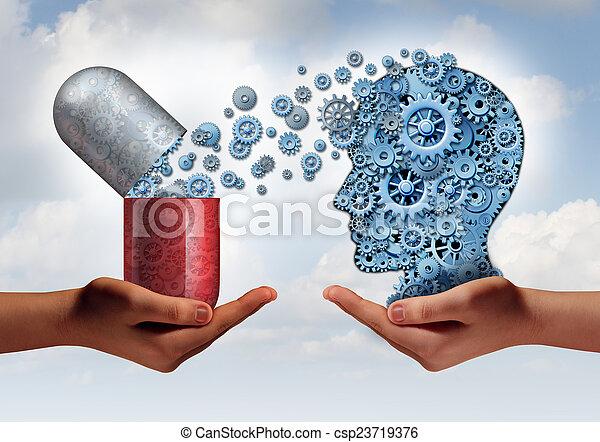 Mredicina cerebral - csp23719376