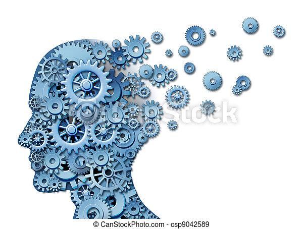 cerebro, pérdida - csp9042589