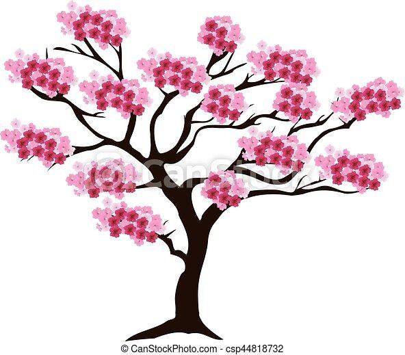 Cerezo Flor Cereza Vector árbol