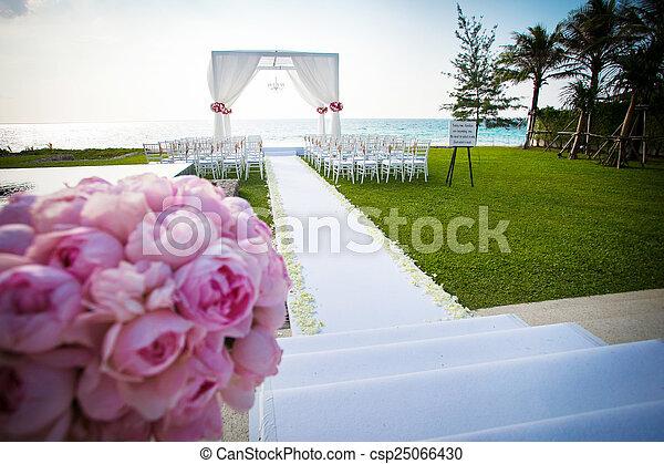 cerimonia, matrimonio - csp25066430