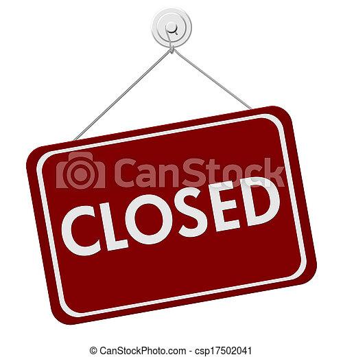Señal cerrada - csp17502041