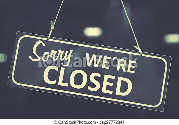 Señal cerrada - csp27772341