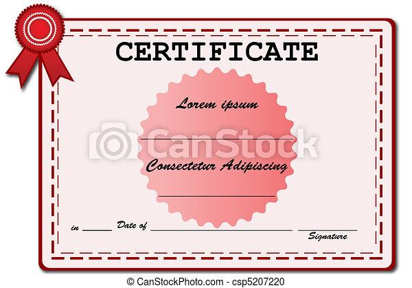 certificat - csp5207220