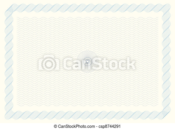 Certificate Background - csp8744291