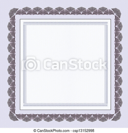 Certificate Blank Template Eps Vectors Search Clip Art