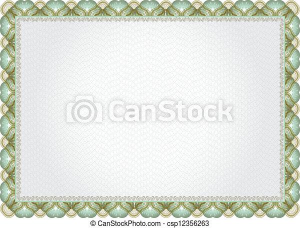 Certificate, diploma for print . Elegant classic certificate of ...
