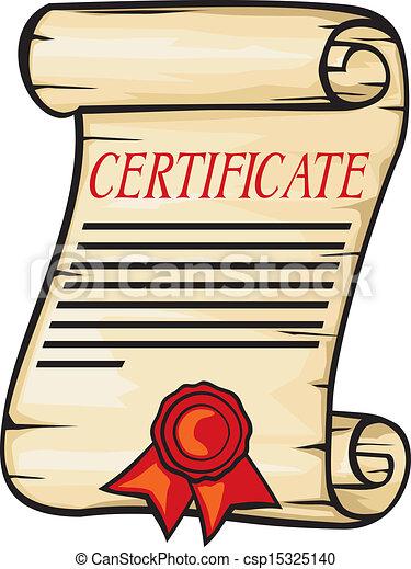 certificate - csp15325140
