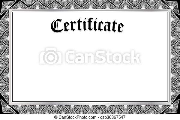 CERTIFICATE - csp36367547