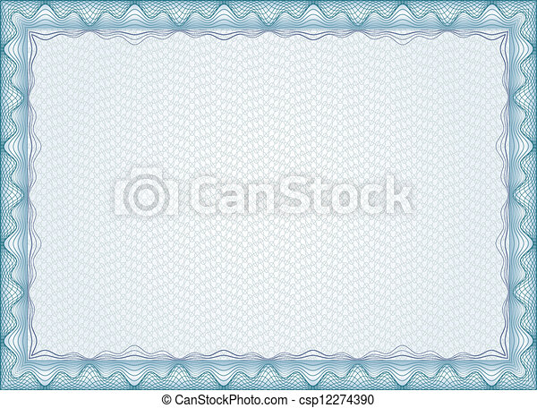 Certificate Frame Diploma  - csp12274390