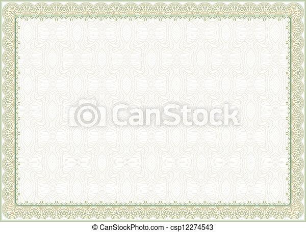 Certificate Frame Diploma  - csp12274543